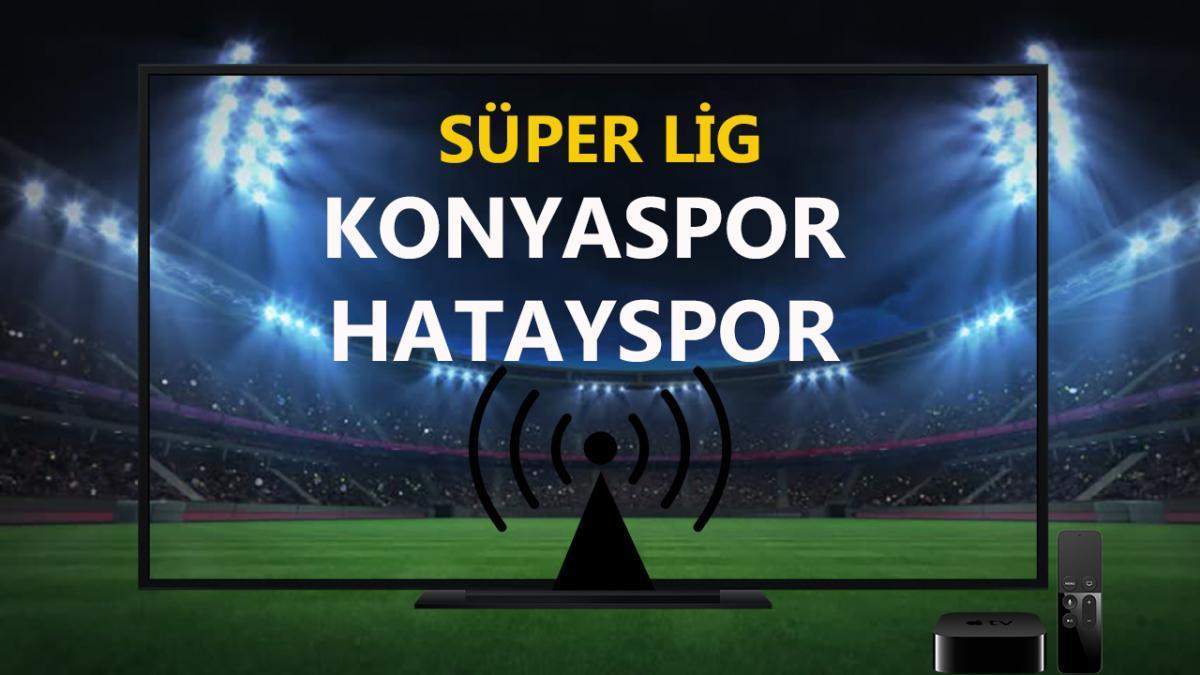 Konyaspor Hatayspor maçı CANLI İZLE | Konyaspor Hatayspor Bein Sports 1  şifresiz canlı maç izle Video