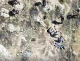 PKK'lı 4 teröristin teslim olma anı