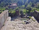 300 yıllık kemer köprü çöktü