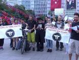 İBB önünde fayton protestosu
