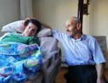 Amasya'da vefalı koca duygulandırdı