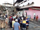 Amasya'da fabrika inşaatında göçük! Yaralılar var