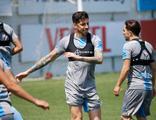 Trabzonspor'da Sosa takımla çalıştı