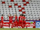 Antalya derbisinde kazanan Antalyaspor