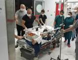 Oğlunu tabancayla ağır yaraladı