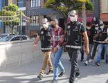 Maskeli 'jokerler' tutuklandı