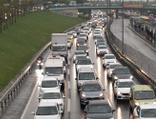 İstanbul'da cuma trafiği yoğunluğu!