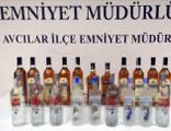 İstanbul'da sahte içkiden 3 gözaltı