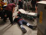 Eczanede maske denetimi yapan sağlıkçıya şoke eden saldırı