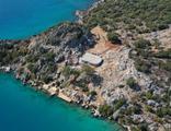 Doğa harikası yarımadadaki villa inşaatına tepki