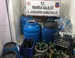Manisa'da 20 ton 'sahte şarap' ele geçirildi!