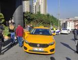 Esenyurt'ta taksiciler arasında kavga