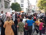 Fatih'te 'pes' dedirten görüntüler