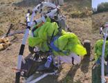 PKK'ya ait paramotor ele geçirildi