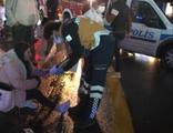 Alkollü sürücü taksiye çarptı: 2'si polis 5 yaralı