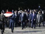 Çavuşoğlu ve büyükelçilerden Anıtkabir'e ziyaret