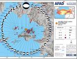 İzmir'de büyüklüğü 4'ün üzerinde 46 artçı deprem
