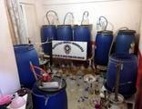 Mersin'de 1700 litre sahte alkol ele geçirildi