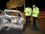 Elazığ'da otomobiller hurdaya döndü: 7 yaralı