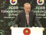 Cumhurbaşkanı Erdoğan'dan 'faiz' ve 'reform' mesajları