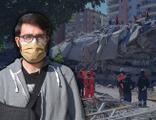 İzmir'de enkaz altında kaldı, saatler sonra kurtarıldı