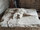 2 bin yıllık Gladyatör Rölyefi ele geçirildi