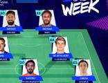 İrfan Can, Şampiyonlar Ligi'nde haftanın 11'ine girdi