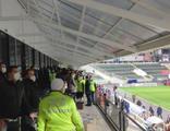 Denizlispor - Fenerbahçe maçında gerginlik