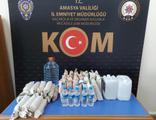 Amasya'da yılbaşı öncesi sahte içki operasyonu