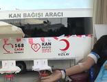 Kızılay ile birlikte kan bağışı kampanyası yapıldı