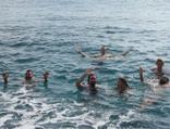 Yer Antalya... Ocak ayında deniz keyfi!