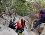 Rus turistler dağlık alanda mahsur kaldı