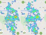 Kentte büyük değişim! Harita maviye döndü