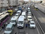 Kısıtlama günü şaşırtan trafik