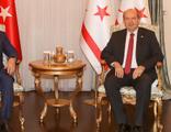 Bakan Çavuşoğlu ile Ersin Tatar'dan ortak açıklama