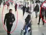 Eşi ve çocuğuyla yürüyen kadını taciz etti