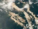 NASA görüntüledi, altın nehirler ortaya çıktı