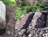 4 bin yıllık tarih hilti ve matkaplarla talan edildi