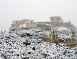 Atina'da alışılmadık görüntüler