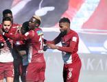 Hatayspor, Erzurum'da 3 puanı 3 golle aldı