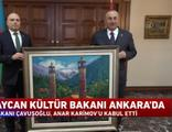 Azerbaycan Kültür Bakanı Ankara'da