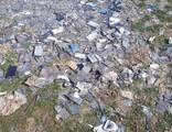 Yakılmış 1000 adet cep telefonu bulundu