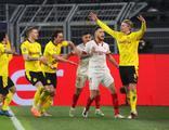 Dortmund çeyrek finalde