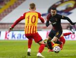 Galatasaray, Kayseri'de 3 puanı 3 golle aldı