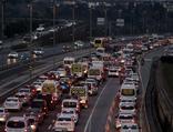 İstanbul'da trafikte yoğunluk görülüyor