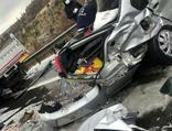 Zincirleme kaza nedeniyle kapanan yolda 2'inci kaza!