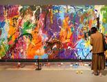Şaşkınlığın böylesi... 500 bin dolarlık eseri boyadılar