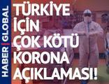 Türkiye'ye şimdiye kadar ki en kötü korona açıklaması geldi!