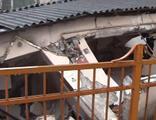 Kağıthane'de metruk  bina çöktü