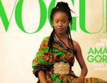 İlk defa bir şair Vogue dergisi kapağında